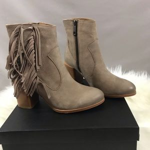 Liebeskind Fringe Ankle Boots NEW!